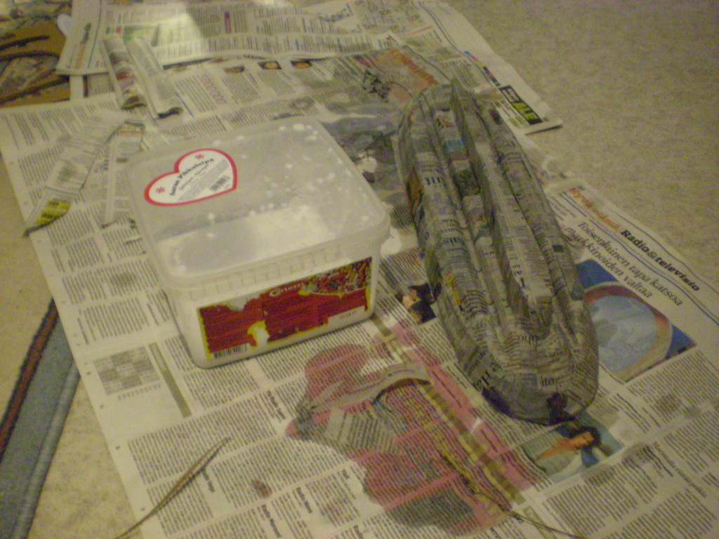 Fiberglass boat hull essential scrap for How to make paper mache waterproof