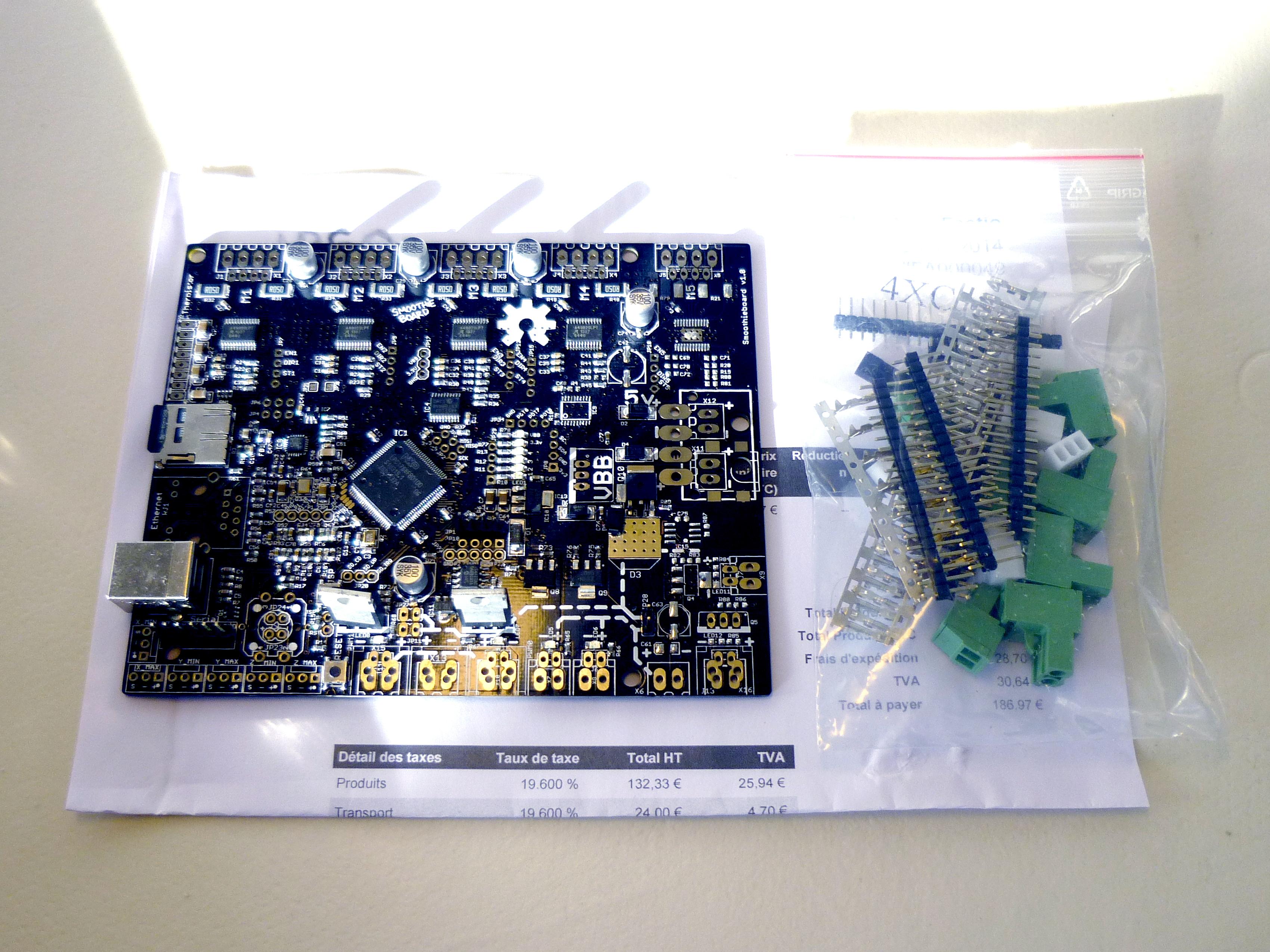 Smoothieboard conversion – Essential scrap
