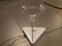 "Thumbnail for the article 'Wire-suspended ""delta robot"".'"